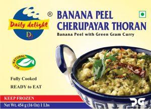 Daily Delight Banana Peel Cherupayar Thoran