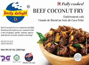 Daily Delight Beef Coconut Fry