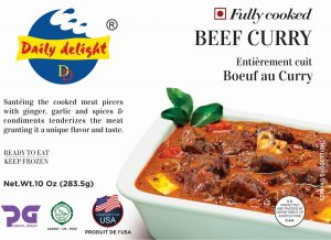 Daily Delight Beef Curry