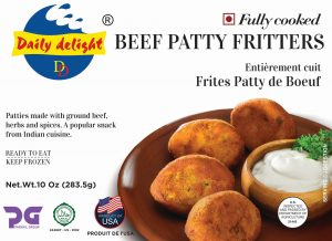 Daily Delight Beef Patty Fritters