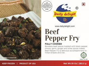 Daily Delight Beef Pepper Fry