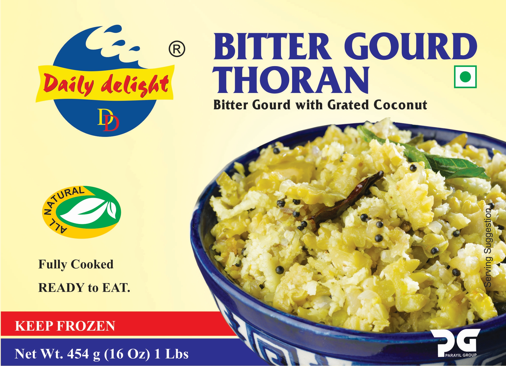 Daily Delight Bitter Gourd Thoran