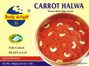 Daily Delight Carrot Halwa