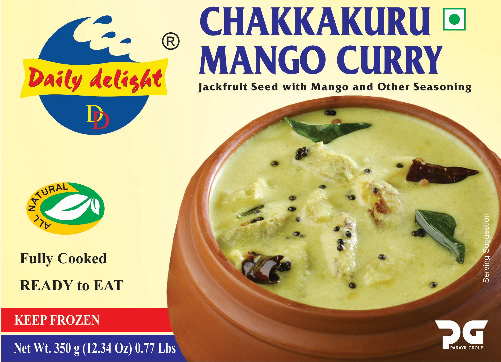 Daily Delight Chakkakuru Mango Curry