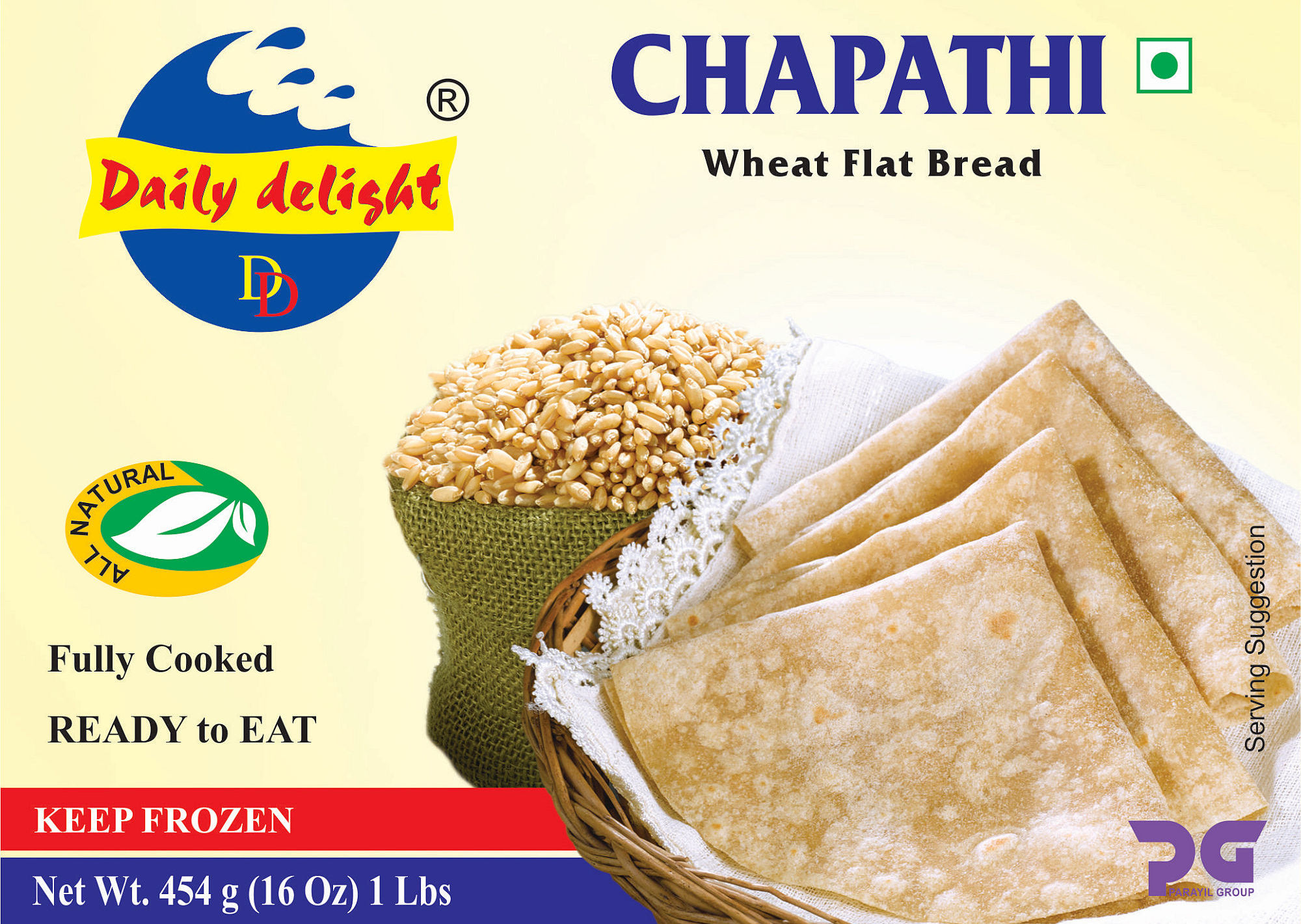 Daily Delight Chapathi