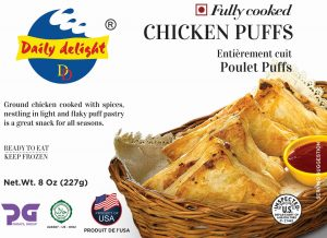 Daily Delight Chicken Puffs