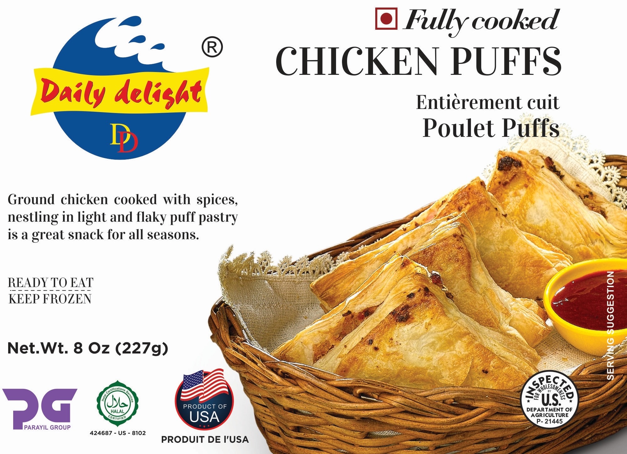 Daily Delight Chicken Puffs