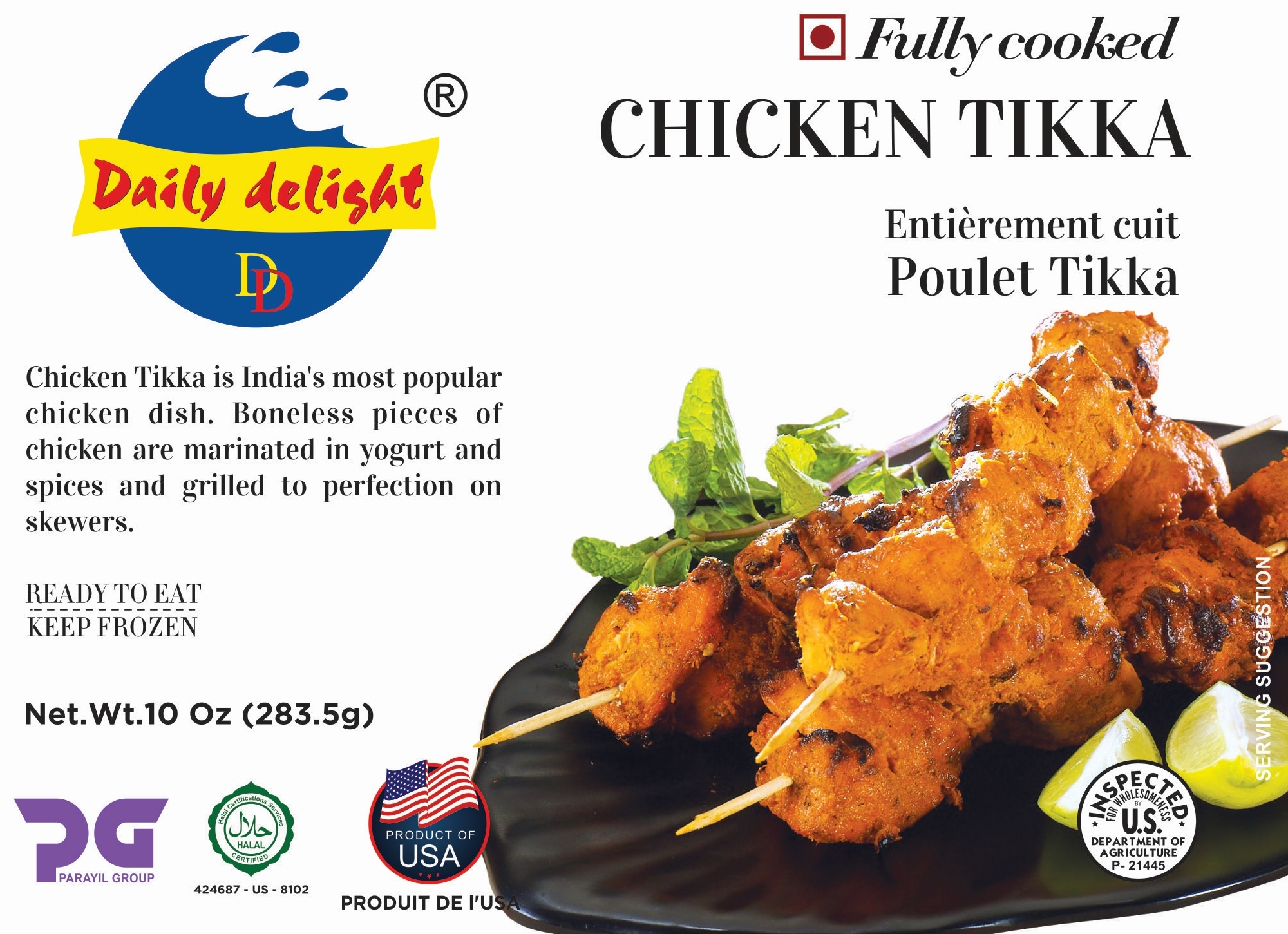 Daily Delight Chicken Tikka
