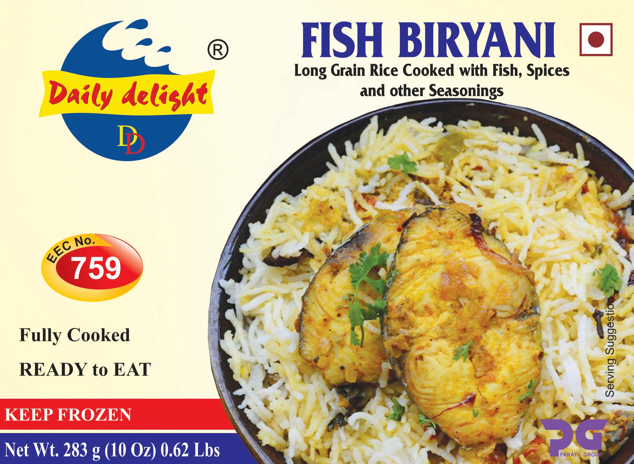 Daily Delight Fish Biryani