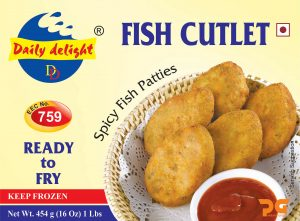 Daily Delight Fish Cutlet