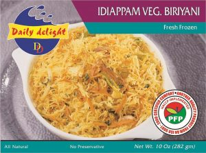 Daily Delight Idiappam Vegetable Biriyani