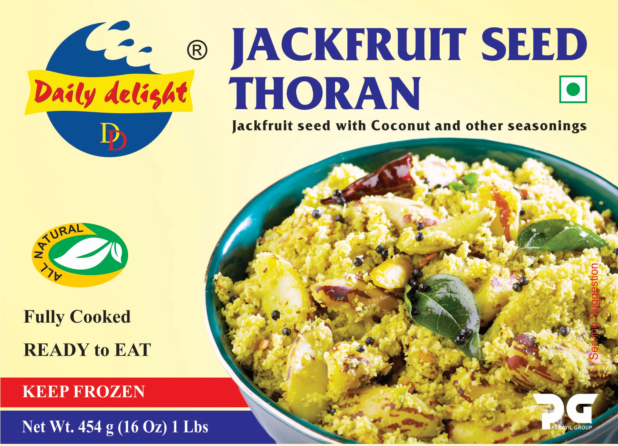 Daily Delight Jackfruit Seed Thoran
