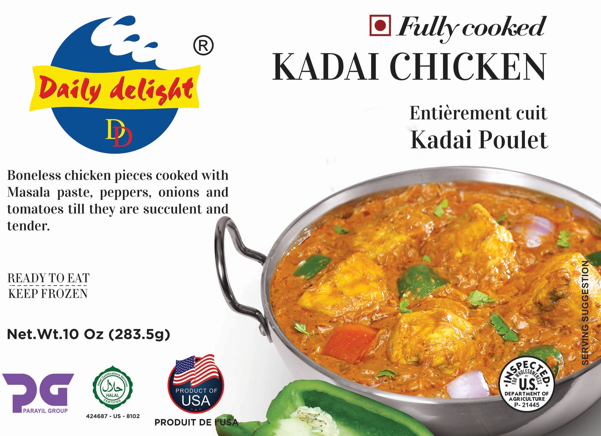 Daily Delight Kadai Chicken