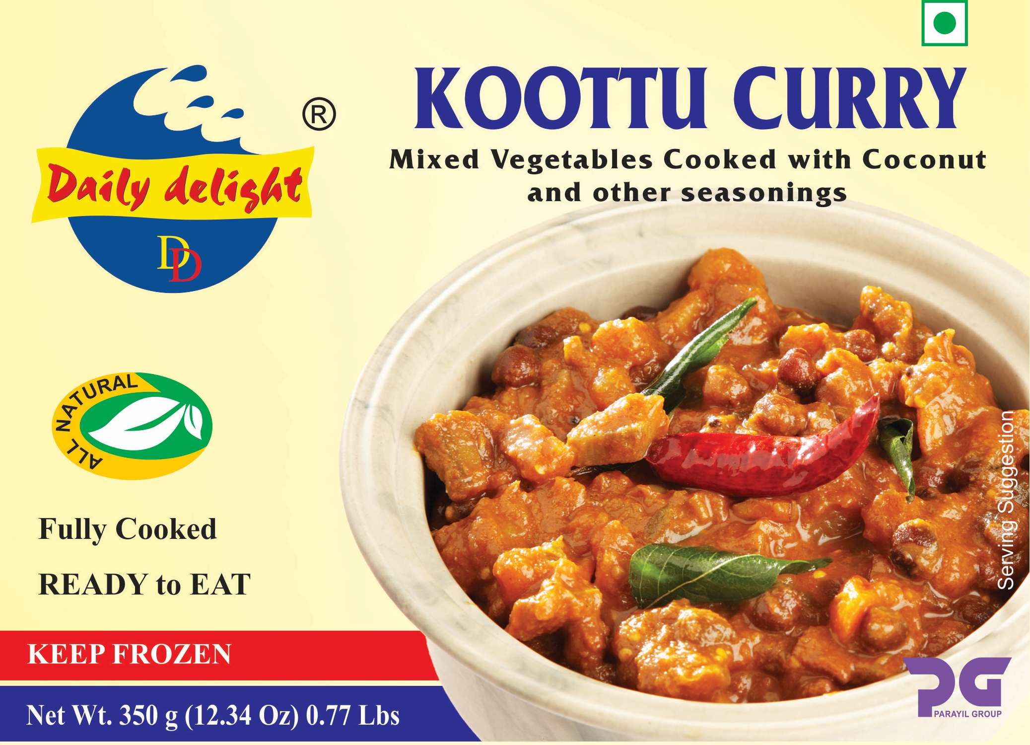 Daily Delight Koottu Curry