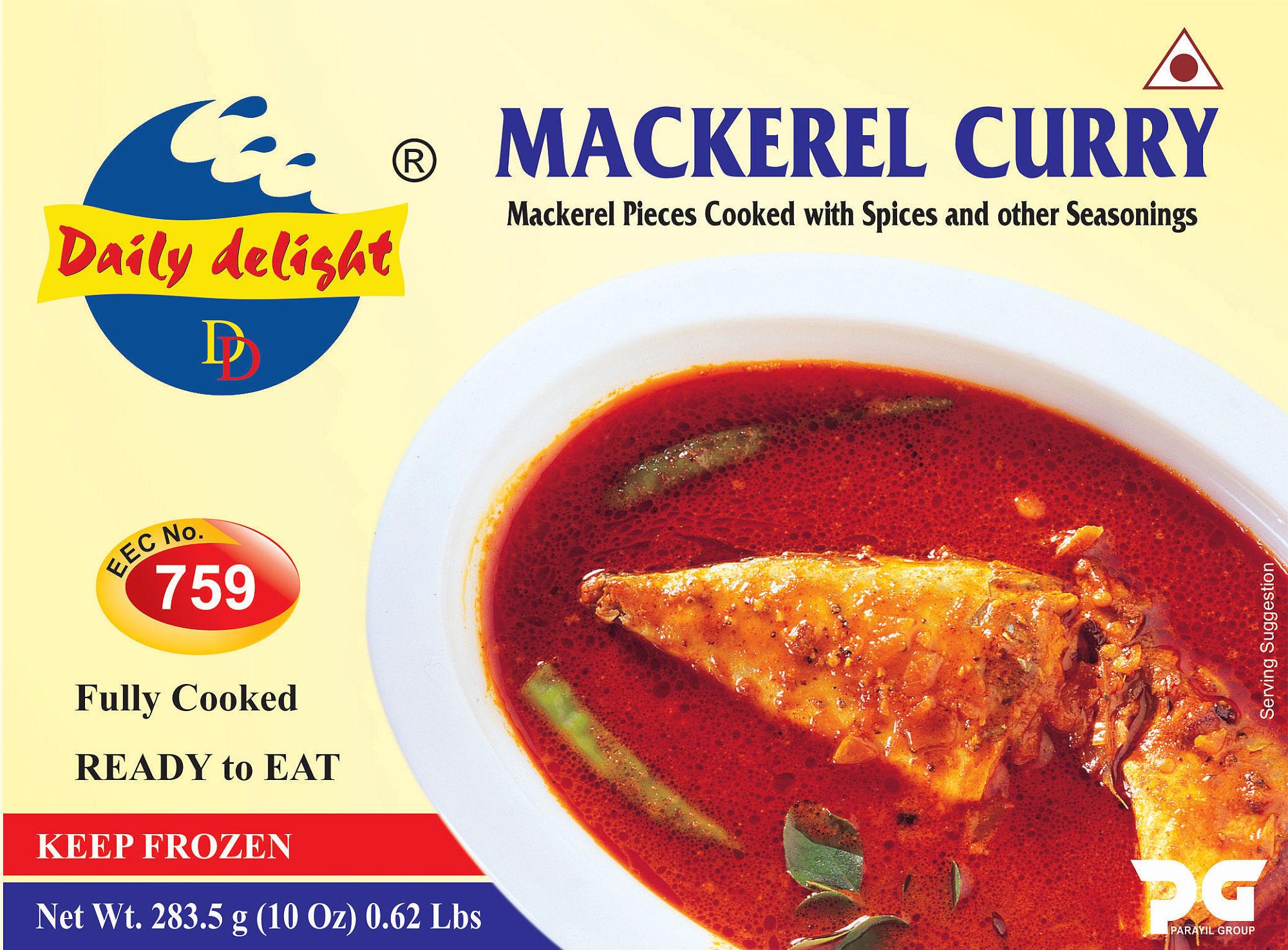Daily Delight Mackerel Curry