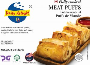 Daily Delight Meat Puffs