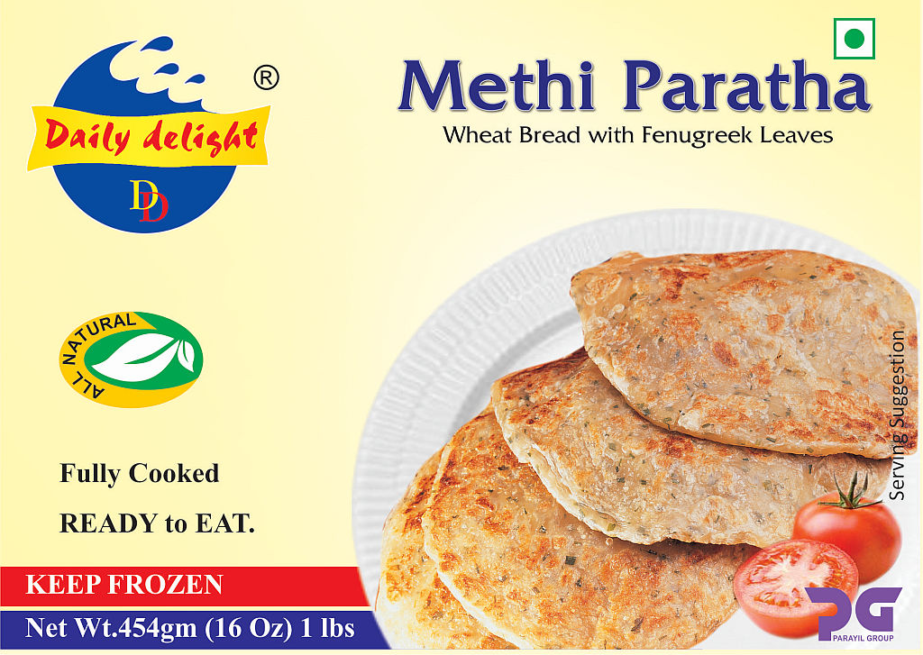 Daily Delight Paratha Methi 454 Gms