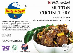 Daily Delight Mutton Cocout Fry