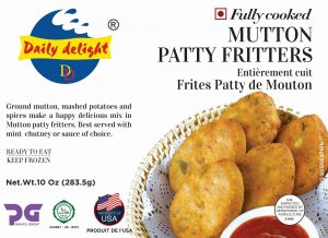 Daily Delight Mutton Patty Fritters