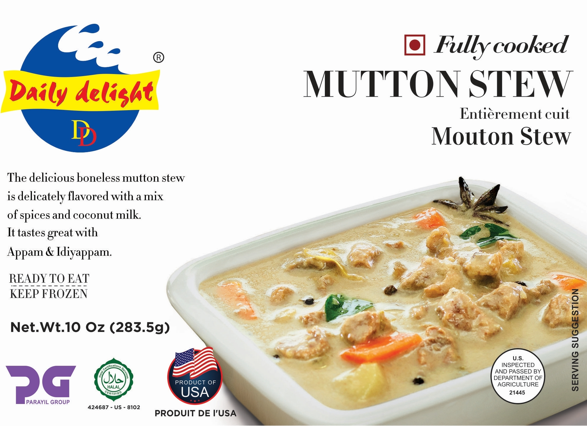 Daily Delight Mutton Stew
