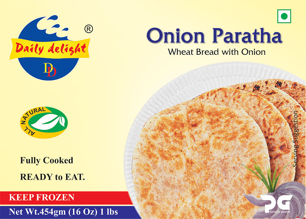 Daily Delight Paratha Onion
