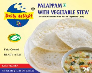 Daily Delight Palappam with Vegetable Stew