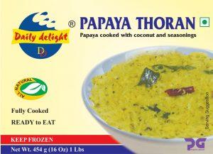 Daily Delight Papaya Thoran