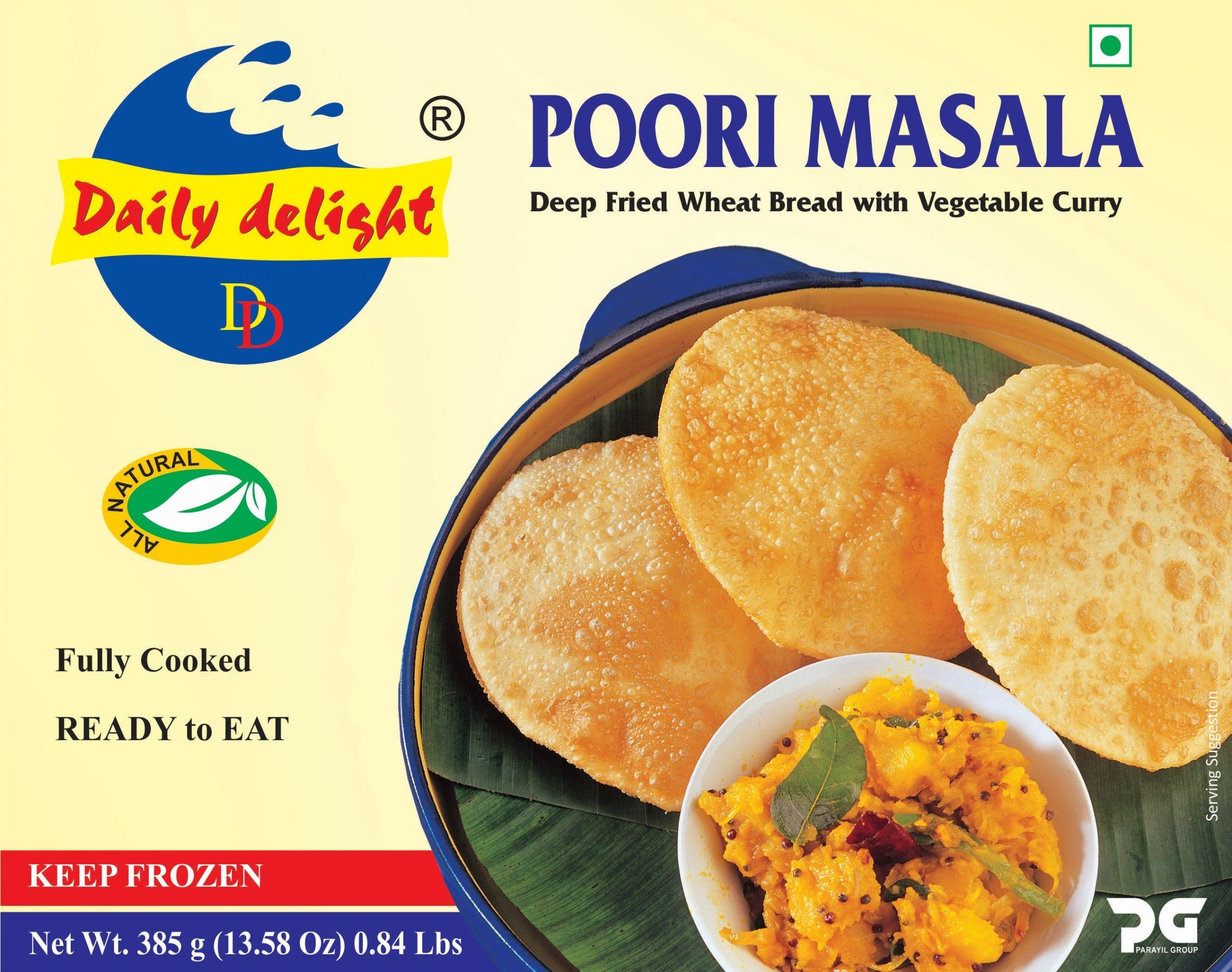 Daily Delight Poori Masala