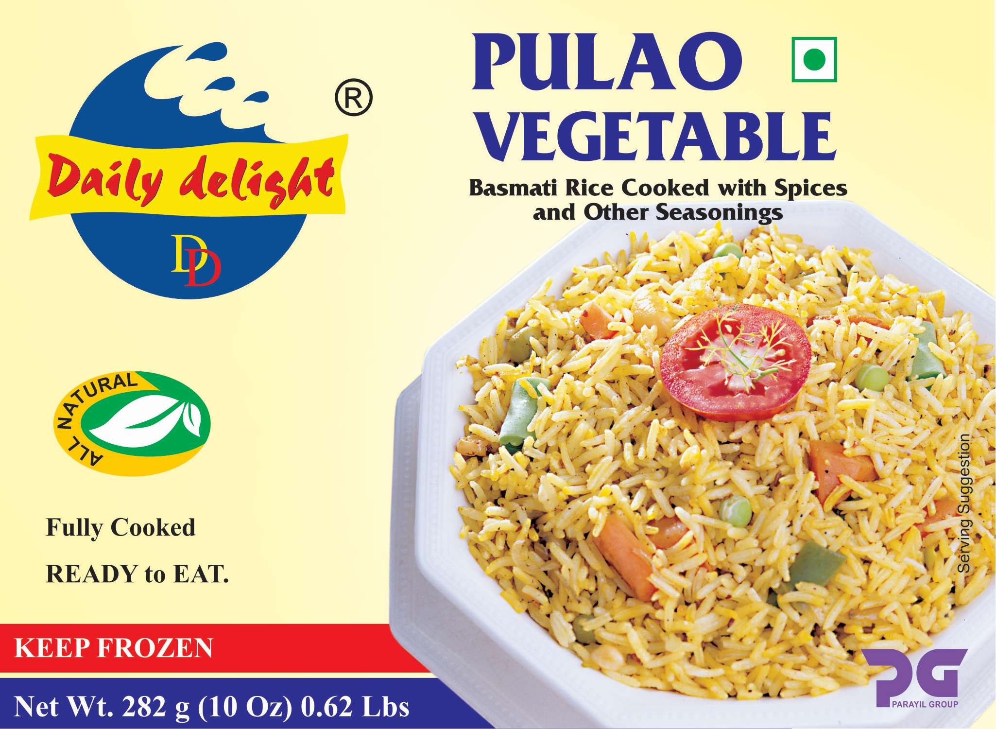 Daily Delight Pulao Vegetable