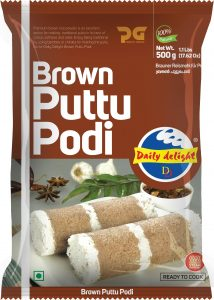 Daily Delight Puttu Podi Brown