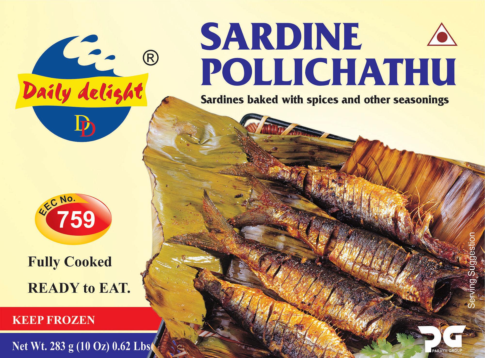 Daily Delight Sardine Pollichathu