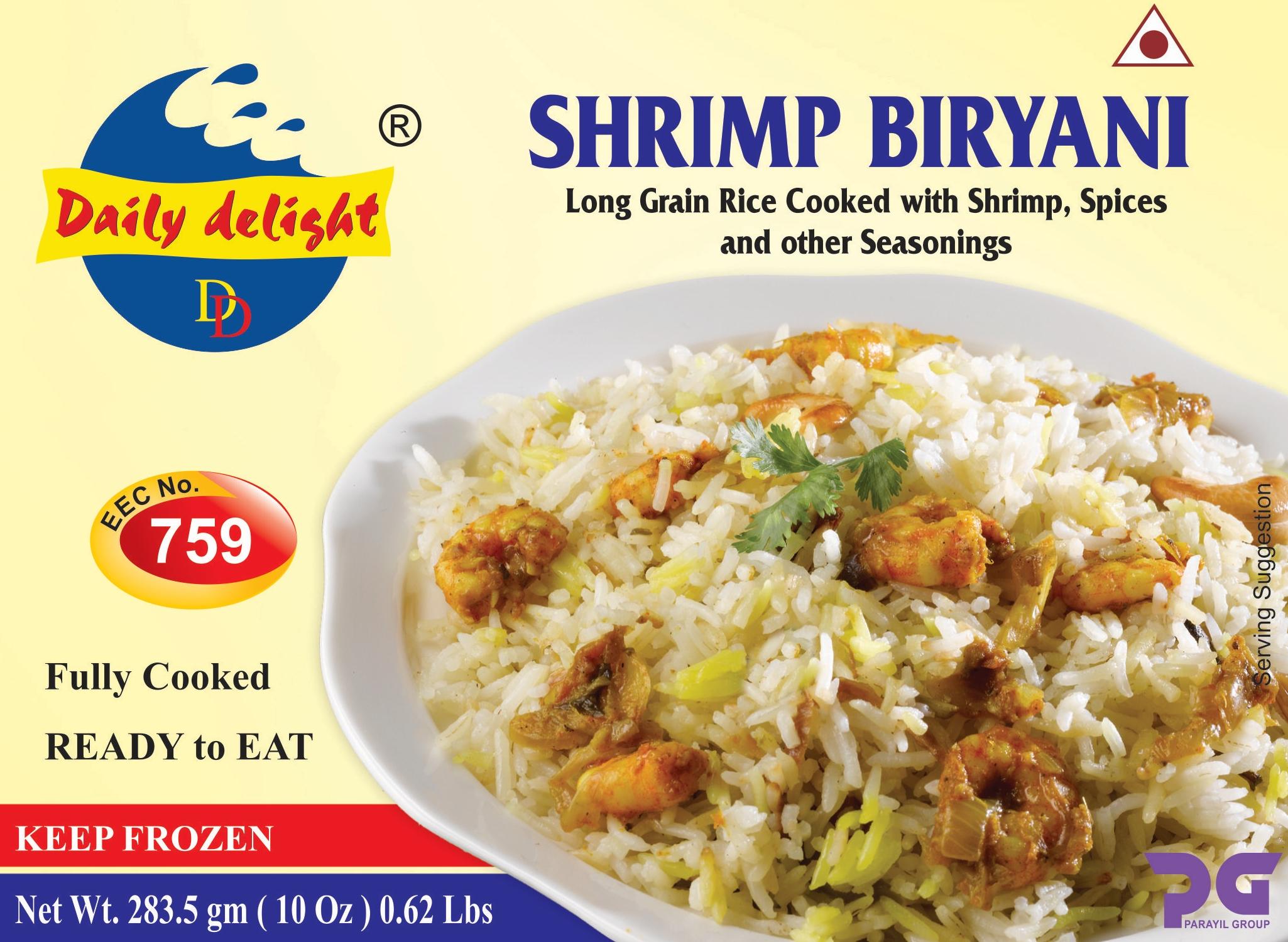 Daily Delight Shrimp Biryani