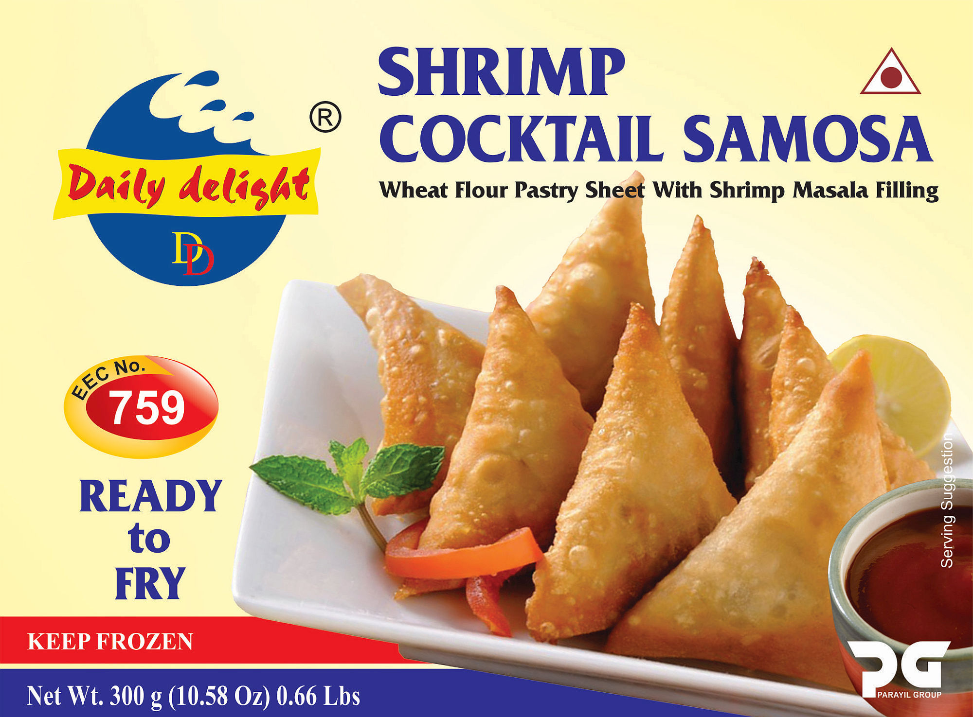 Daily Delight Shrimp Cocktail Samosa