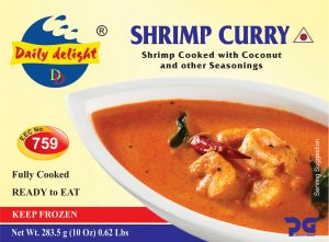 Daily Delight Shrimp Curry