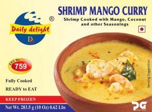 Daily Delight Shrimp Mango Curry