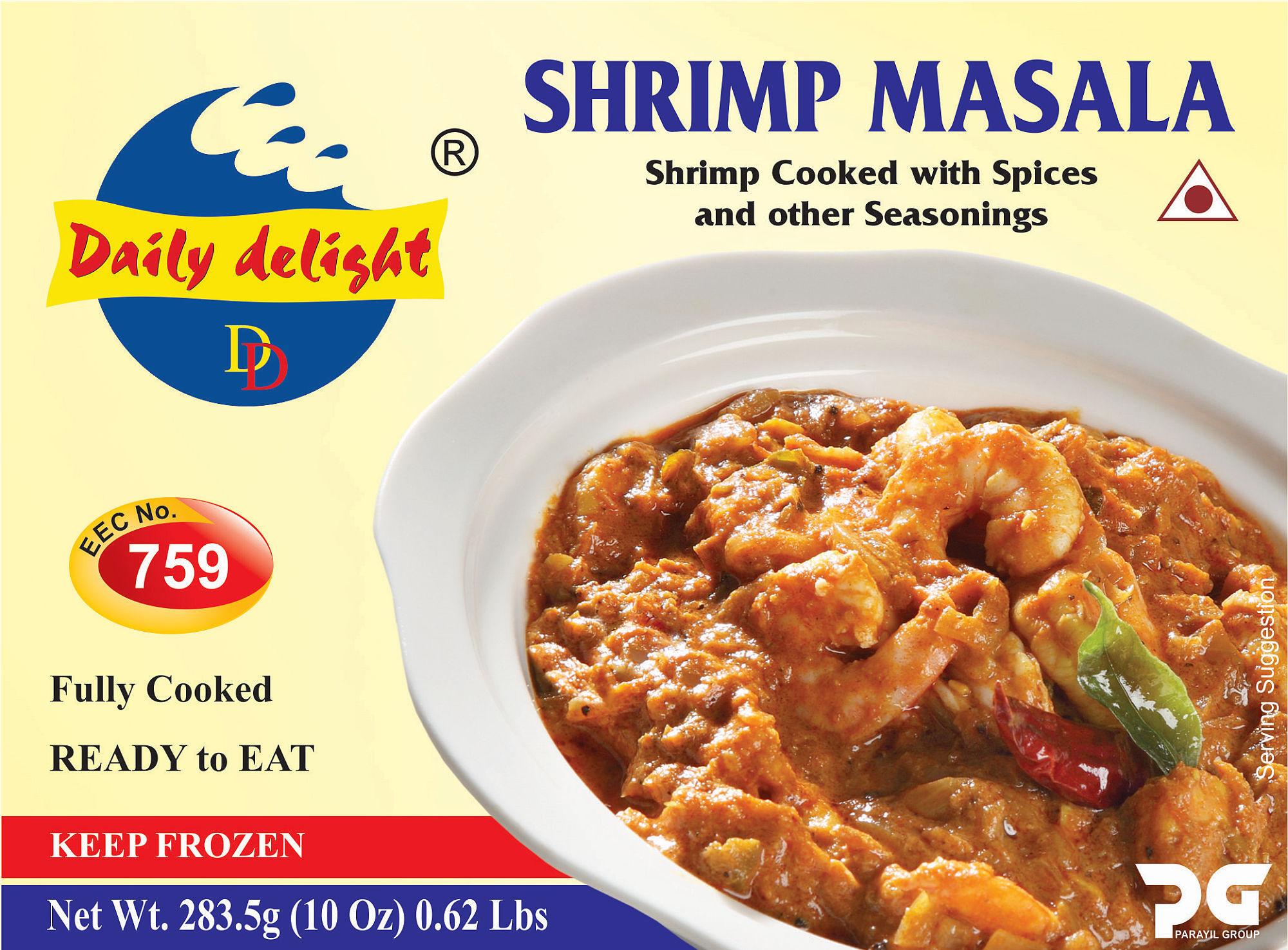 Daily Delight Shrimp Masala