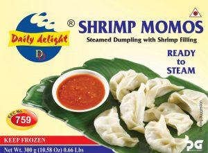 Daily Delight Shrimp Momos