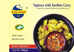 Daily Delight Tapioca Sardine Curry