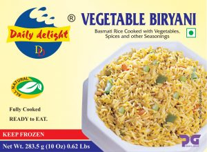 Daily Delight Vegetable Biryani