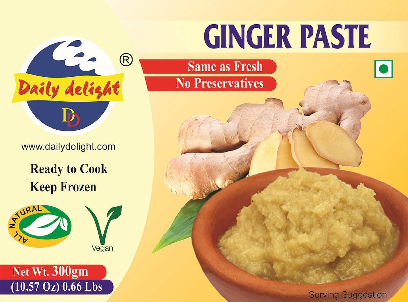 Daily Delight Ginger Paste