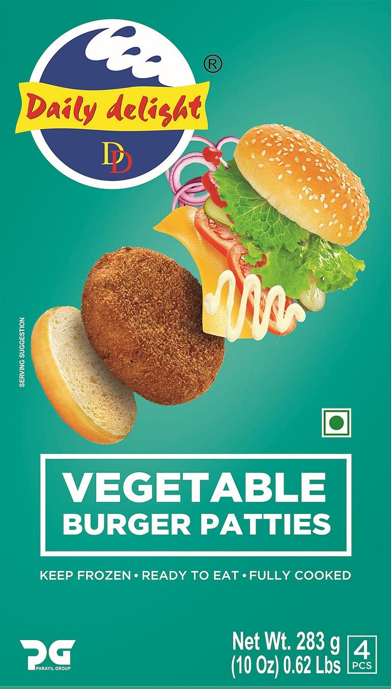 Daily Delight Vegetable Burger Patties