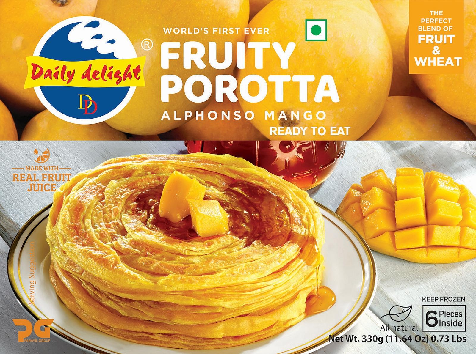 Daily Delight Alphonsa Mango Porotta