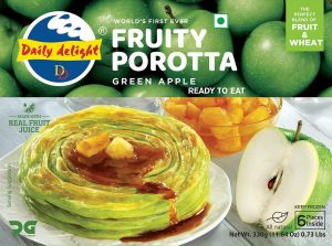 Daily Delight Green Apple Porotta