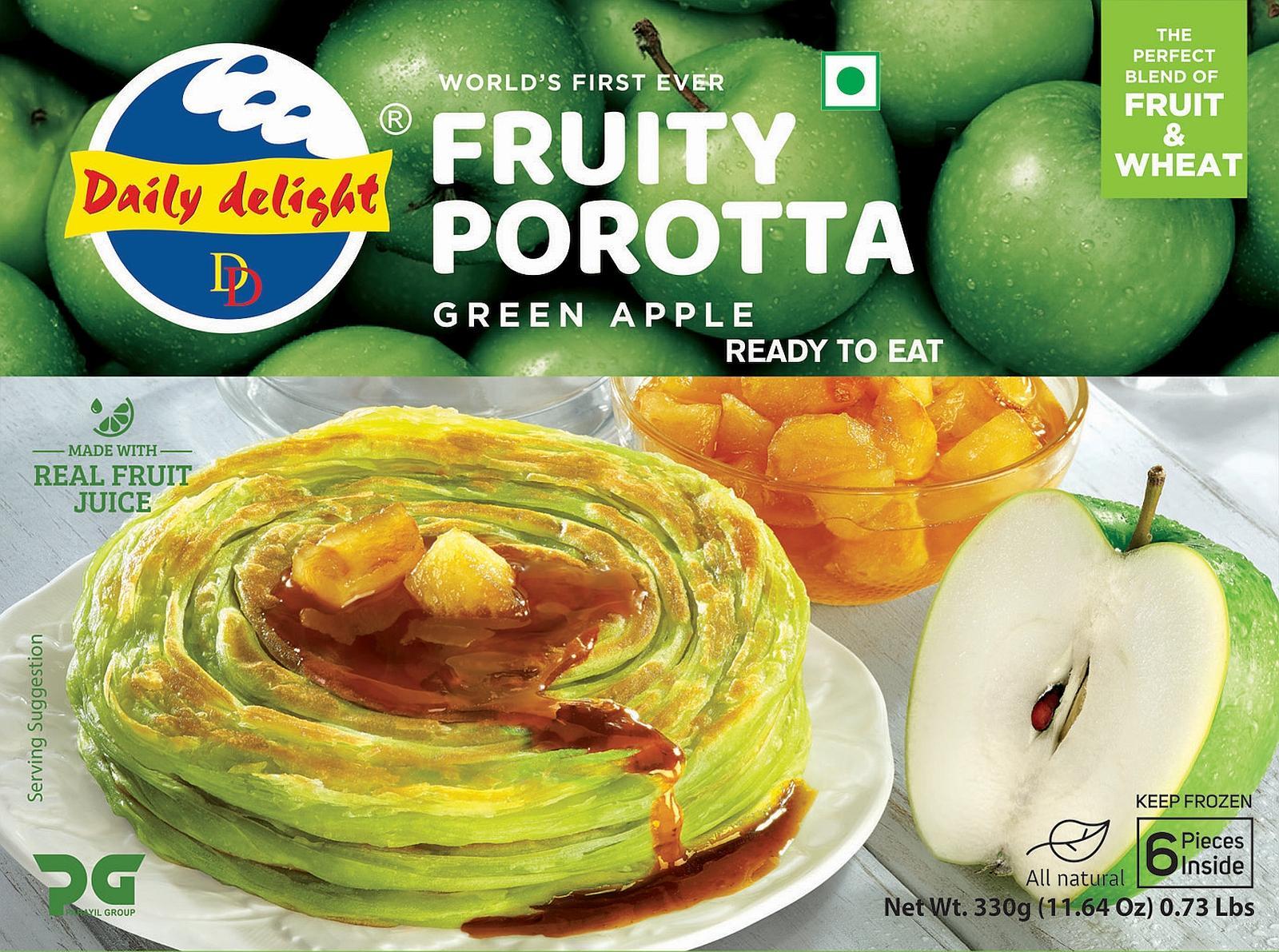 Daily Delight Green Apple Porotta