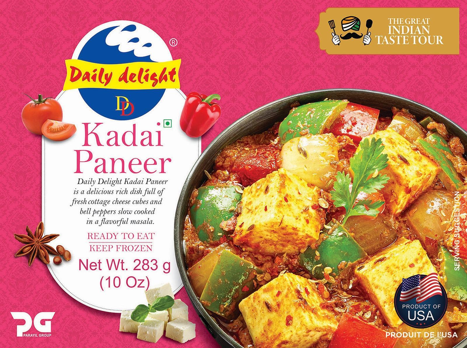 Daily Delight Kadai Paneer