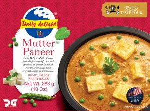 Daily Delight Mutter Paneer