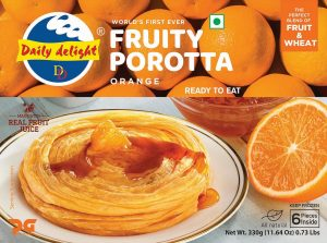 Daily Delight Orange Porotta