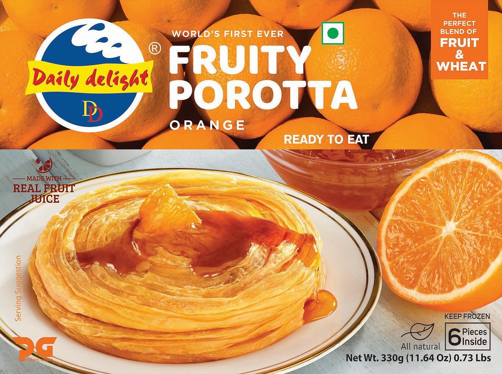 Daily Delight Orange Porotta