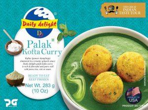 Daily Delight Palak Kofta Curry