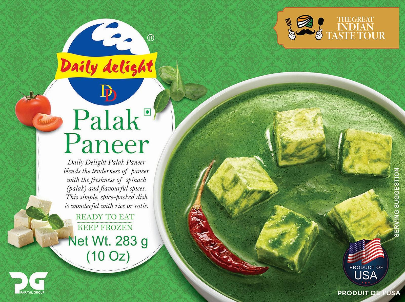 Daily Delight Palak Paneer
